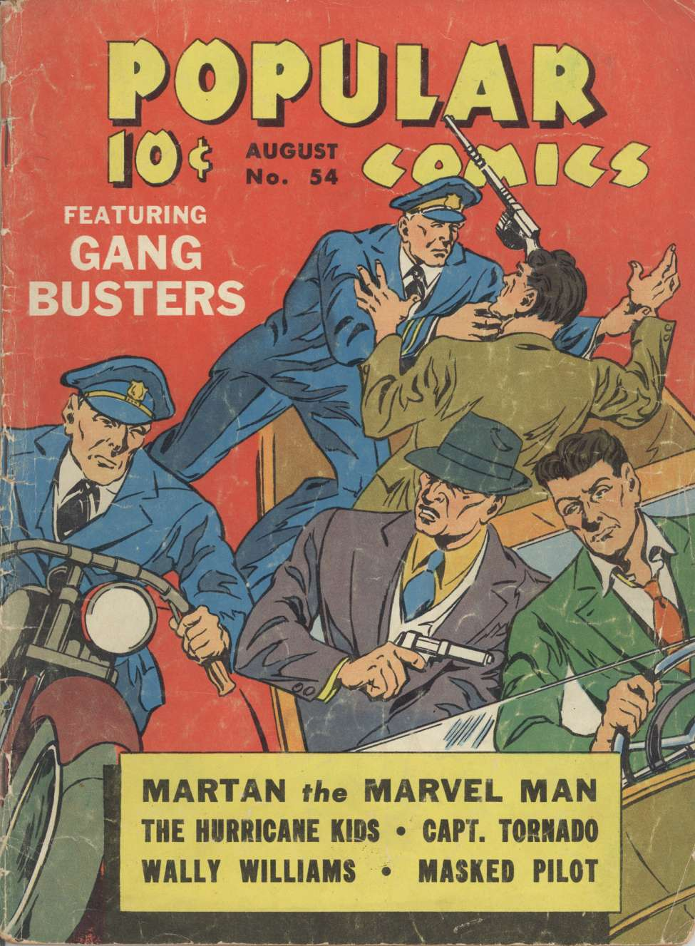 Comic Book Cover For Popular Comics #54 - Version 1