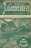 Cover For L'Agent IXE 13 v2 38 L'homme au bras coupé