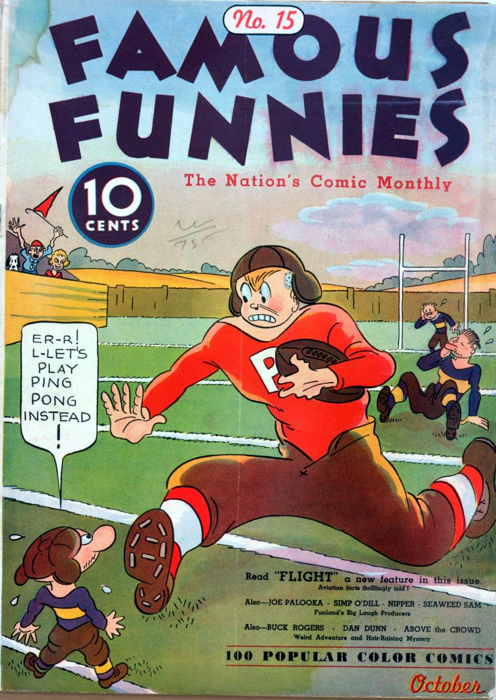 Comic Book Cover For Famous Funnies #15