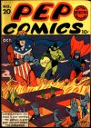 Cover For Pep Comics 20 (paper/8fiche)