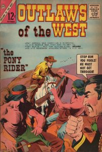 Large Thumbnail For Outlaws of the West #50