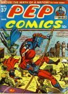 Cover For Pep Comics 37