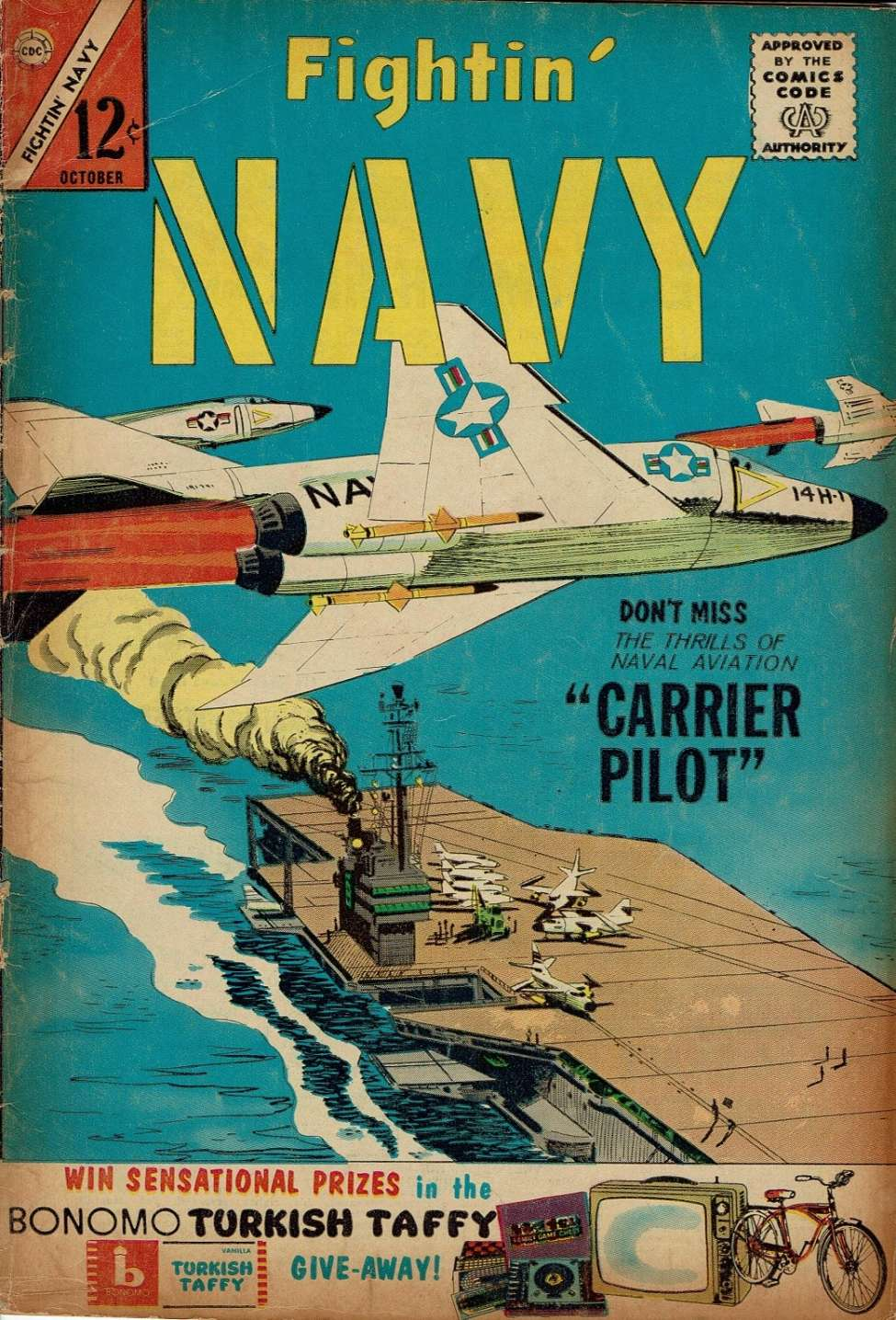 Comic Book Cover For Fightin' Navy #112