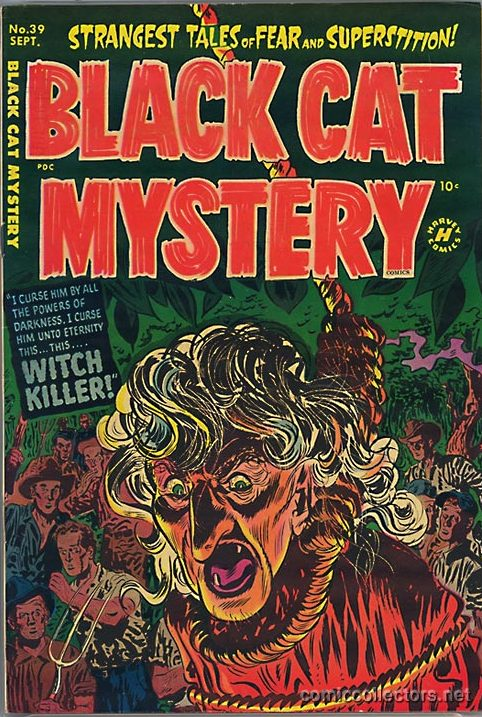 Comic Book Cover For Black Cat #39