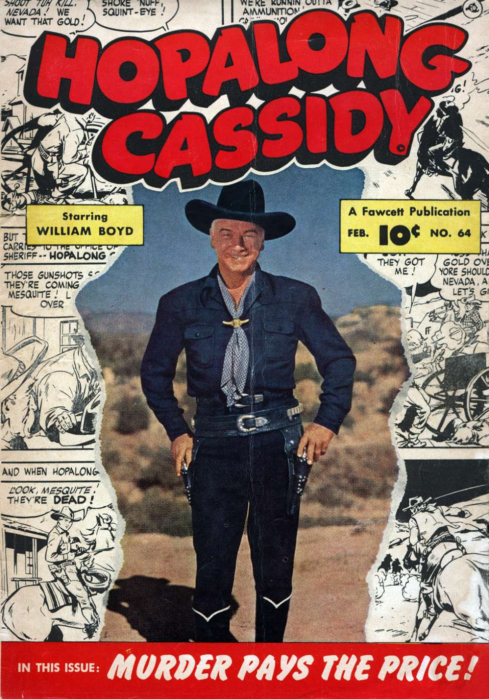 Comic Book Cover For Hopalong Cassidy #64 - Version 2