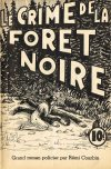 Cover For Albert Brien 16 Le crime de la fôret noire