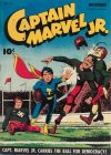 Cover For Captain Marvel Jr. 13