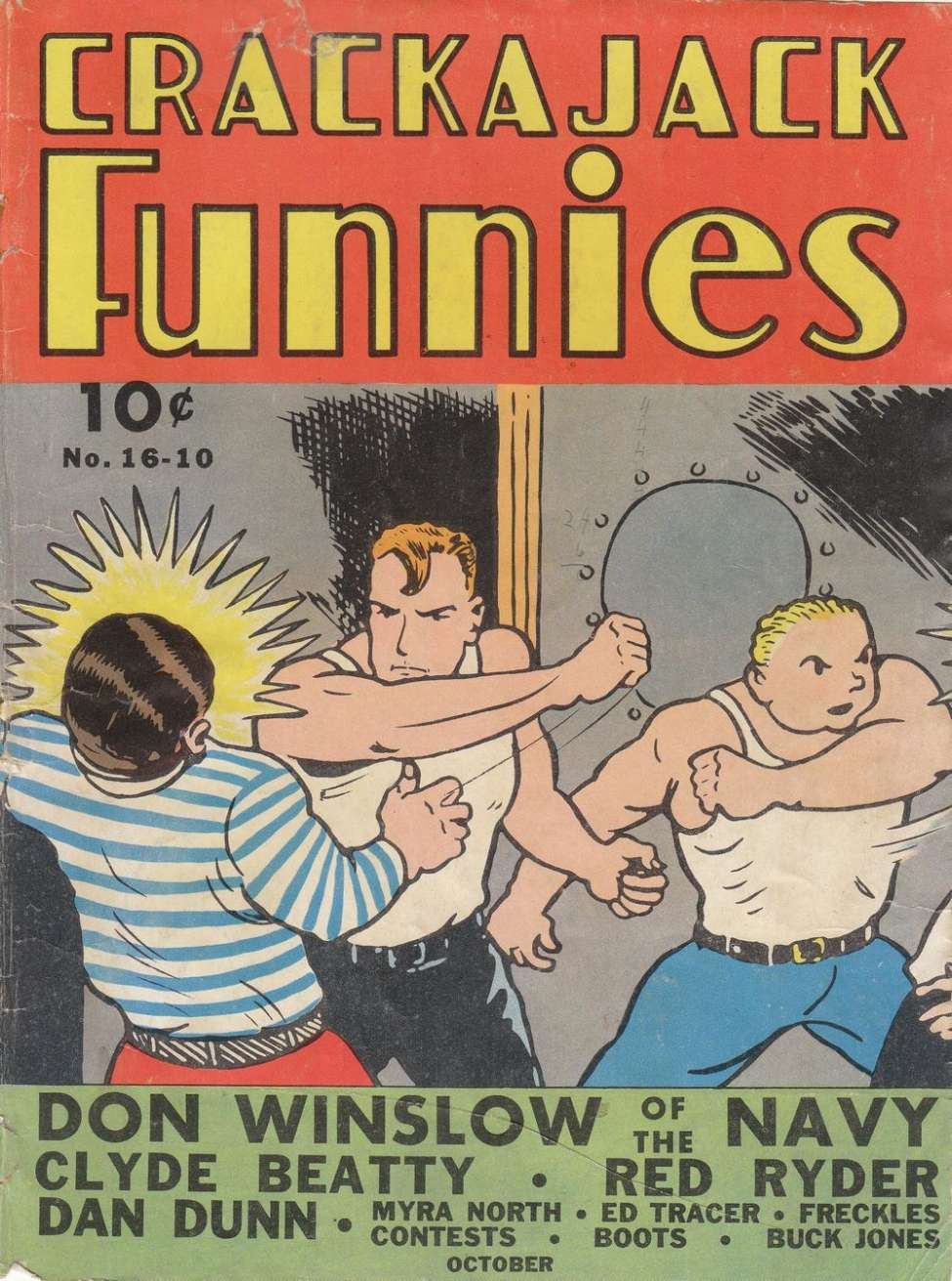 Comic Book Cover For Crackajack Funnies #16