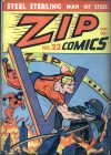 Cover For Zip Comics 22