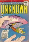 Cover For Adventures into the Unknown 98