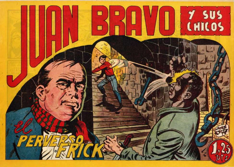 Comic Book Cover For Juan Bravo 09