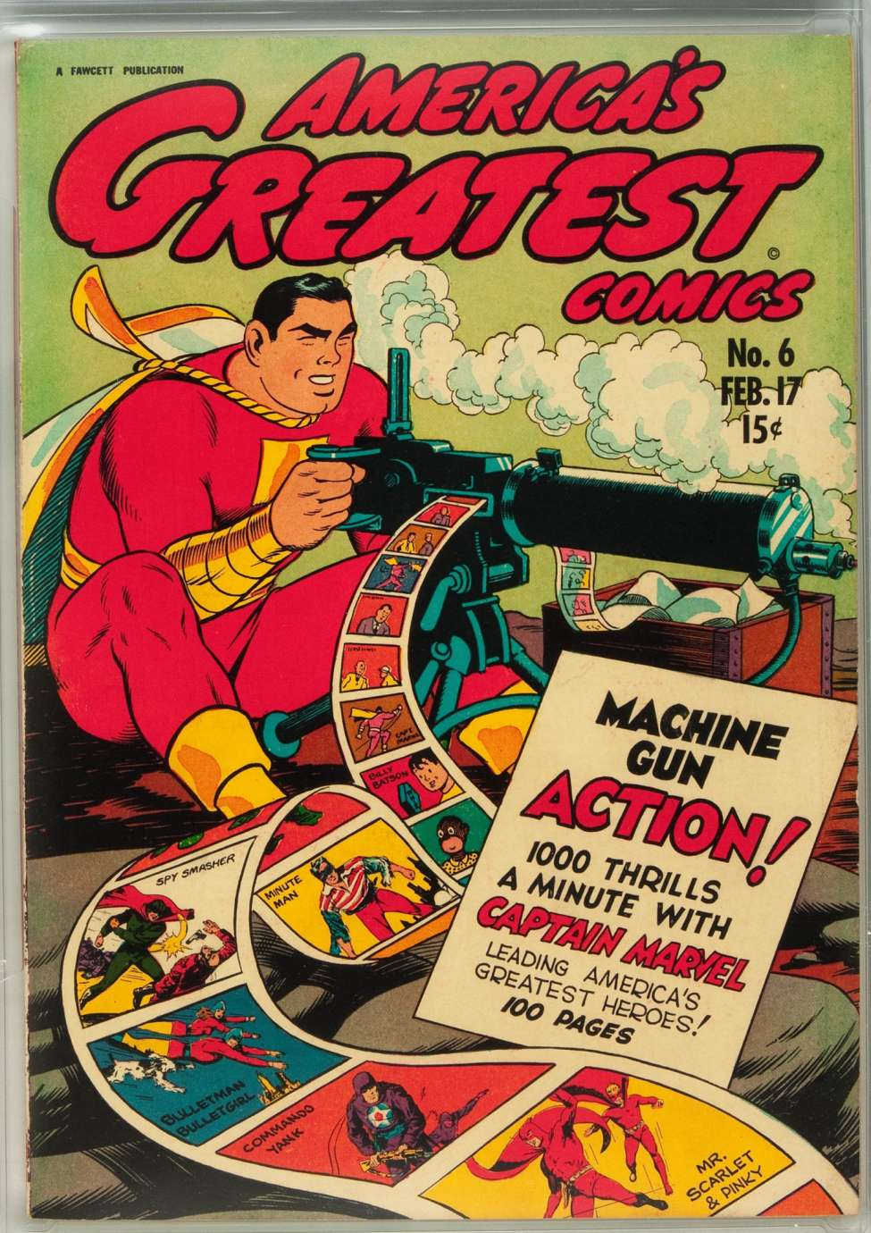 Comic Book Cover For America's Greatest Comics #6