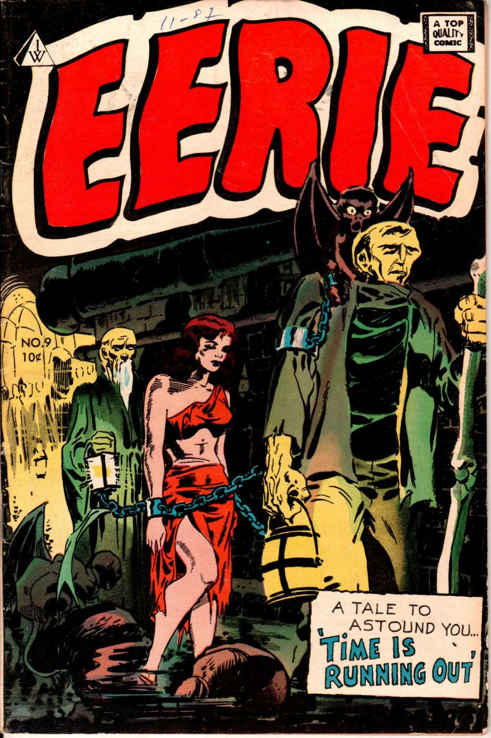 Comic Book Cover For Tales Of Terror 1