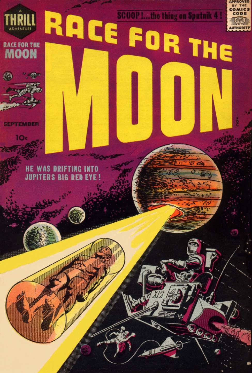 Comic Book Cover For Race for the Moon #2