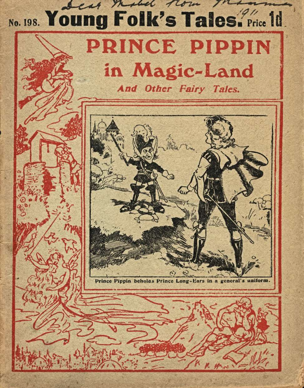 Comic Book Cover For Young Folk's Tales 198