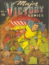 Cover For Major Victory Comics 3