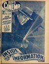 Cover For Boy's Cinema 1039 Inside Information Harry Carey