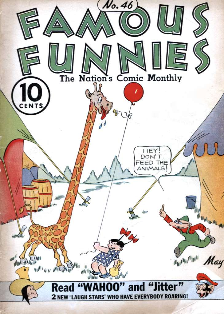 Comic Book Cover For Famous Funnies #46