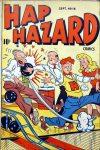 Cover For Hap Hazard Comics 16