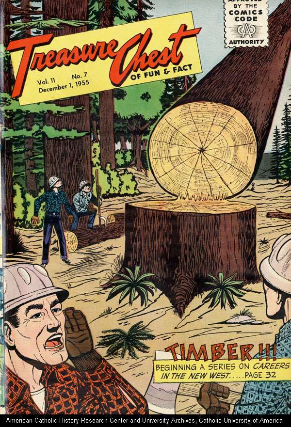 Comic Book Cover For Treasure Chest of Fun and Fact v11 7 [193]