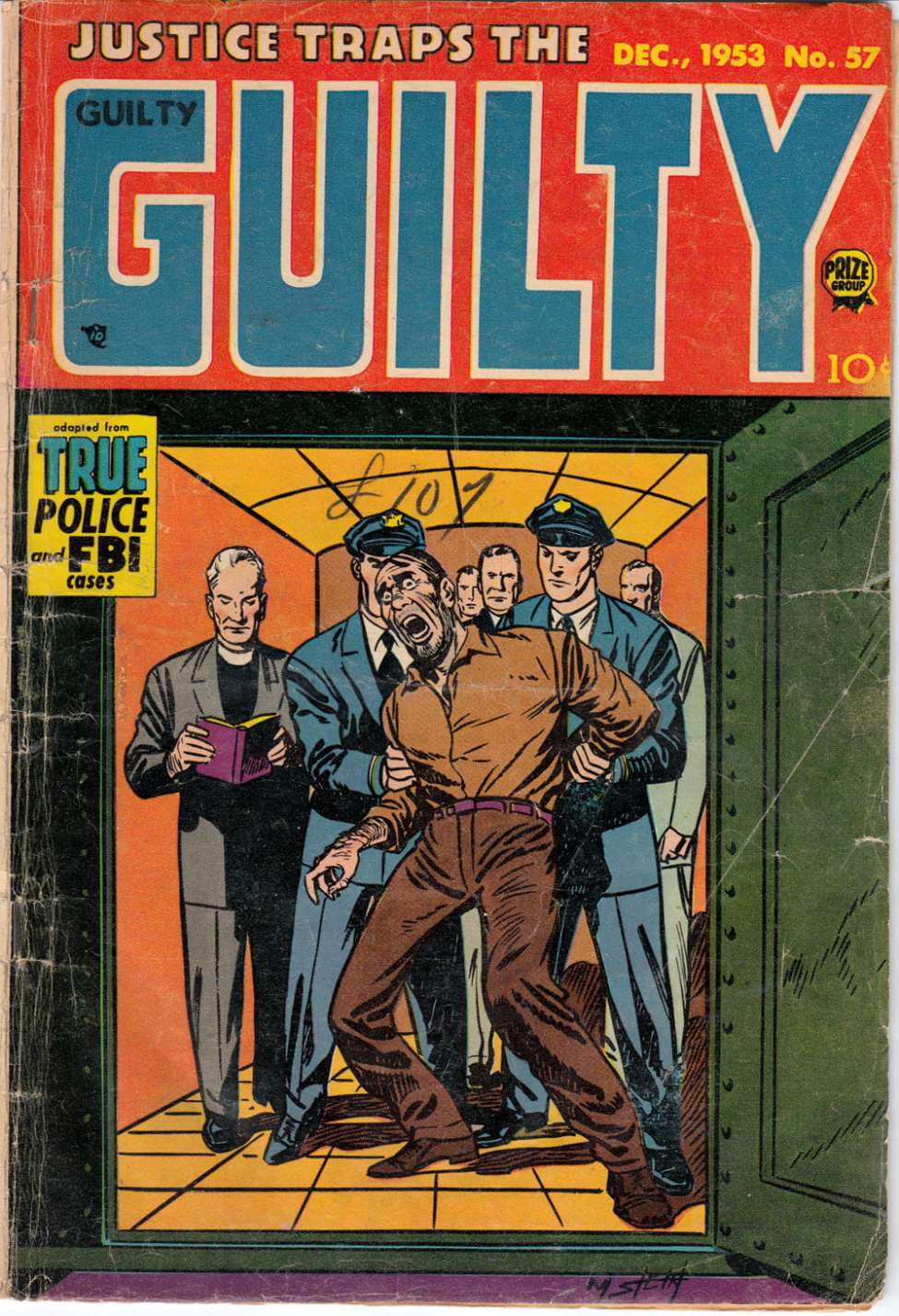 Comic Book Cover For Justice Traps the Guilty v7 3 (57)
