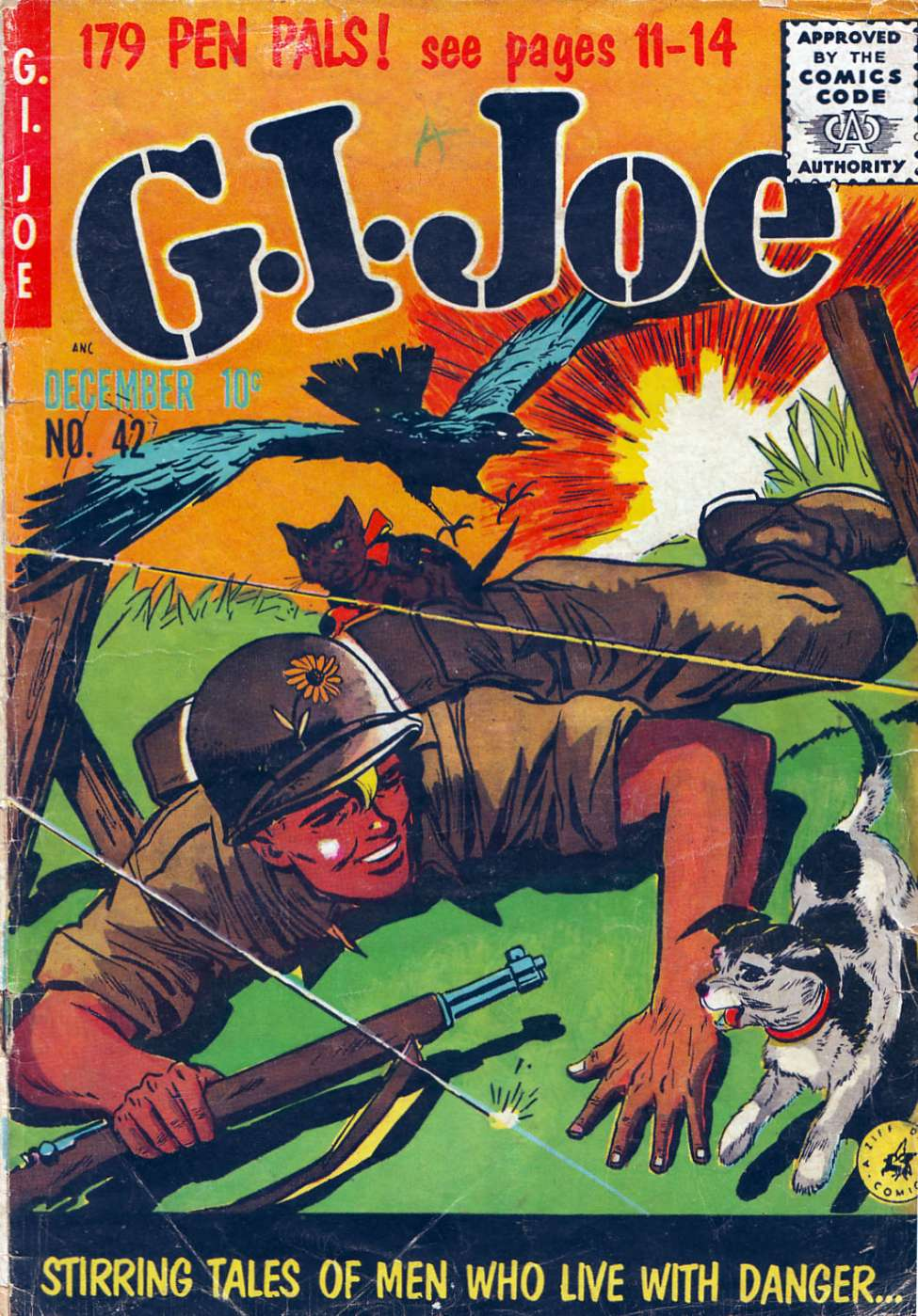 Comic Book Cover For G.I. Joe #42