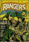Cover For Rangers Comics 9