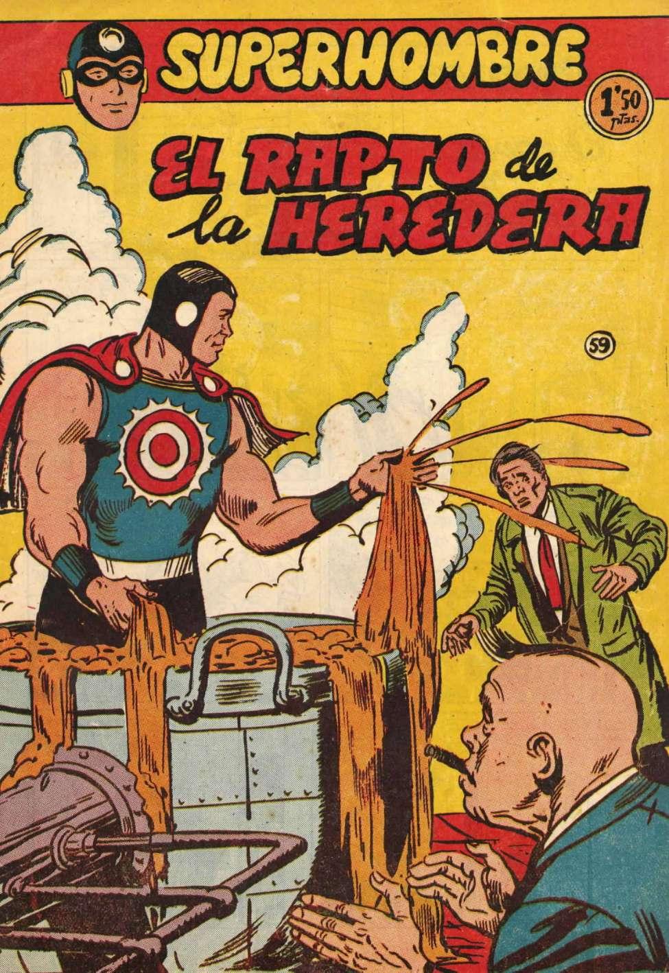 Comic Book Cover For SuperHombre 59 El rapto de la heredera