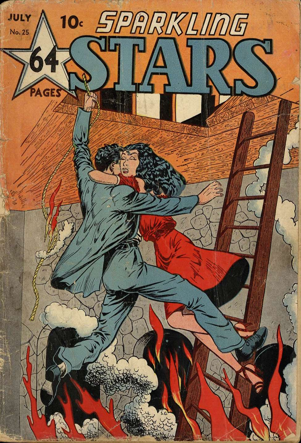 Comic Book Cover For Sparkling Stars #25 - Version 1