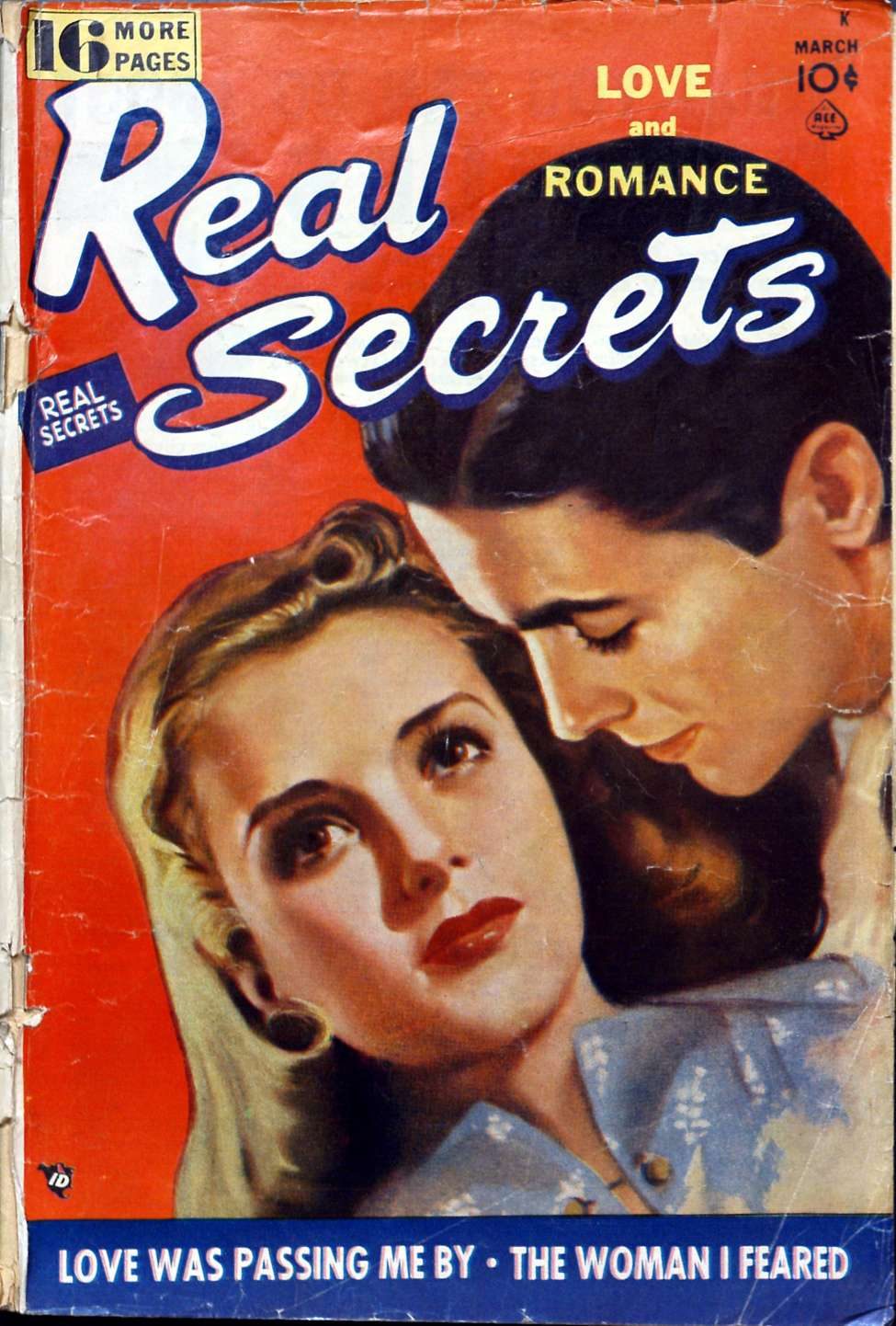 Comic Book Cover For Real Secrets 04