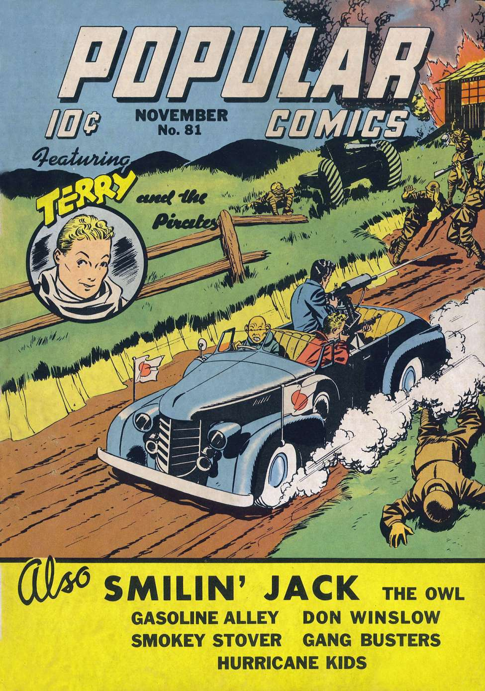 Comic Book Cover For Popular Comics #81