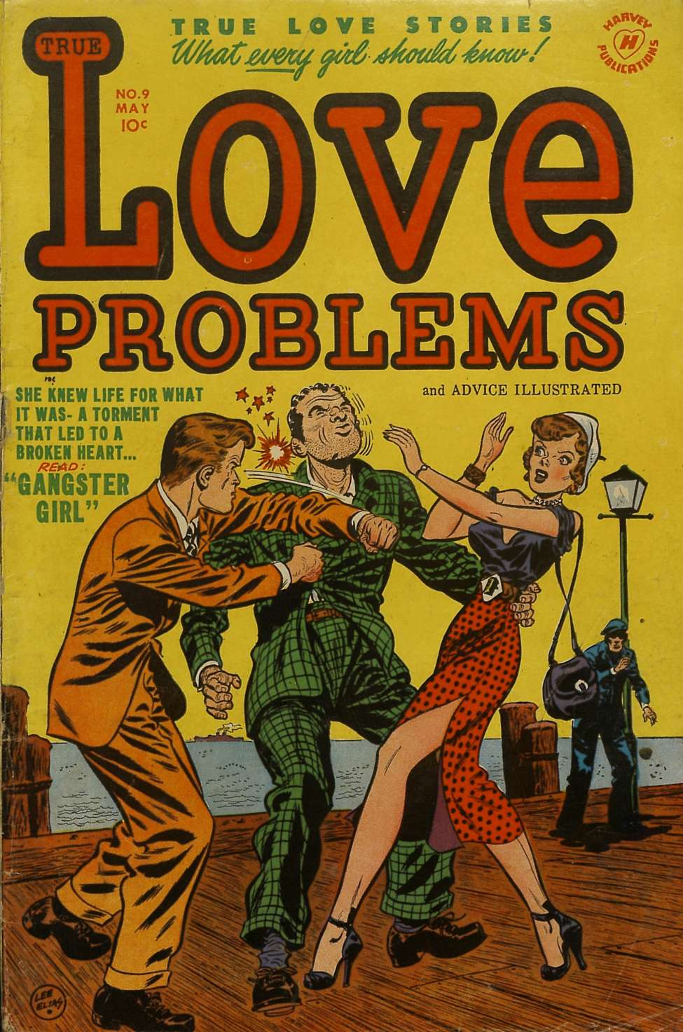 Comic Book Cover For True Love Problems and Advice Illustrated #9