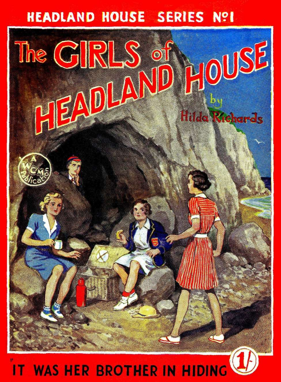 Comic Book Cover For The Girls of Headland House 01 - It was her Brother in Hiding