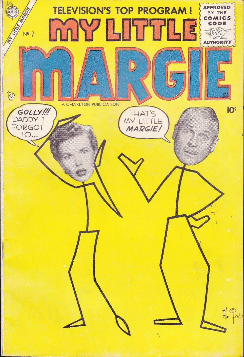 Comic Book Cover For My Little Margie #7