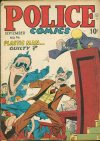 Cover For Police Comics 94