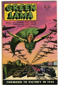 Large Thumbnail For Green Lama #2