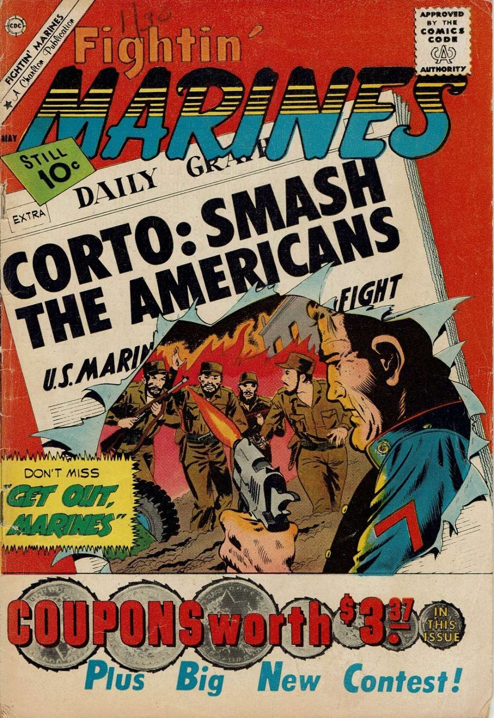 Comic Book Cover For Fightin' Marines #41