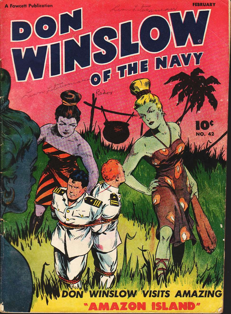 Comic Book Cover For Don Winslow of the Navy #42