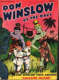 Large Thumbnail For Don Winslow of the Navy #42