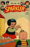 Cover For Sparkler Comics 60