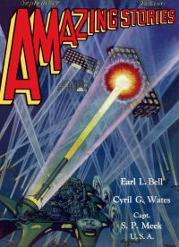 Large Thumbnail For Amazing Stories v04 06 - The Red Peril - Capt. S. P. Meek