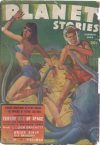 Cover For Planet Stories v2 7 Terror Out of Space Leigh Brackett