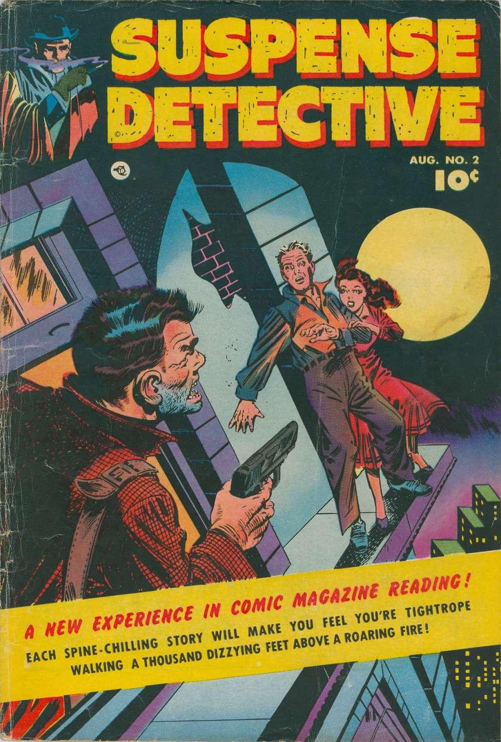 Comic Book Cover For Suspense Detective #2