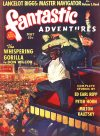 Cover For Fantastic Adventures v2 5 The Whispering Gorilla Don Wilcox