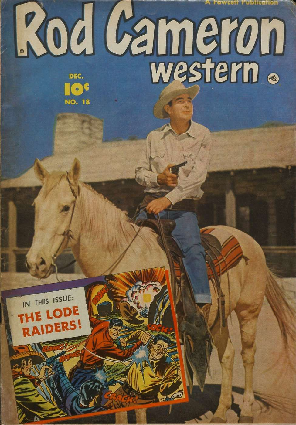 Comic Book Cover For Rod Cameron Western #18 - Version 1