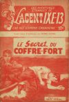 Cover For L'Agent IXE 13 v1 6 Le secret du coffre fort