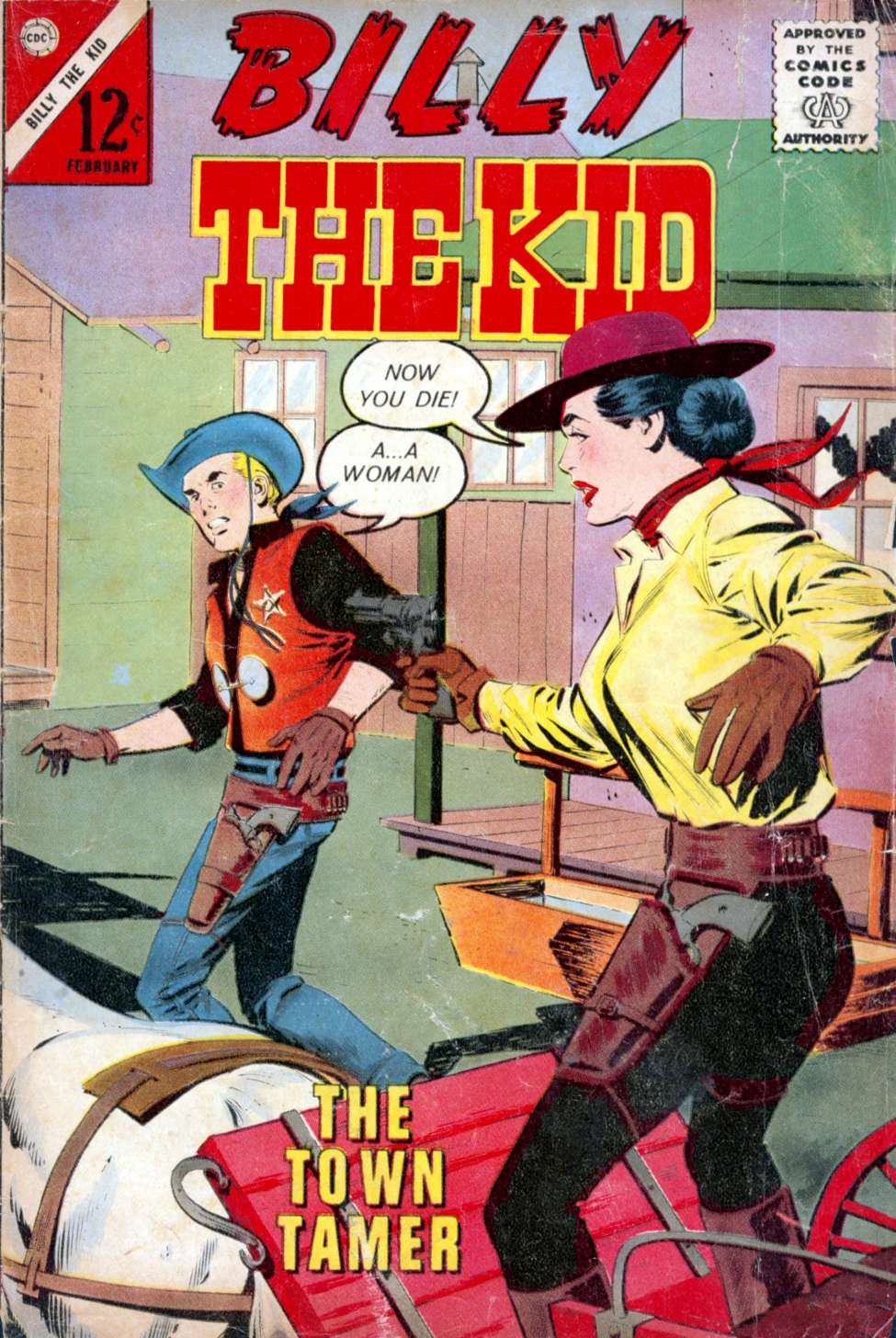 Comic Book Cover For Billy the Kid #38