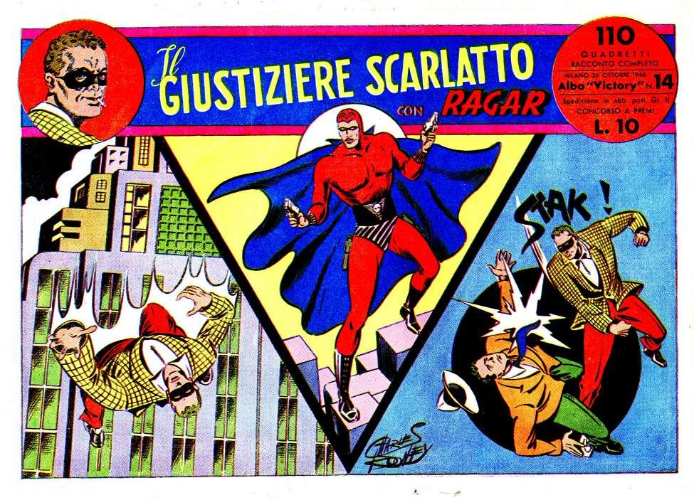 Comic Book Cover For Ragar 014 - Il Giustiziere Scarlatto