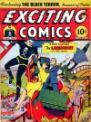 Cover For Exciting Comics 21