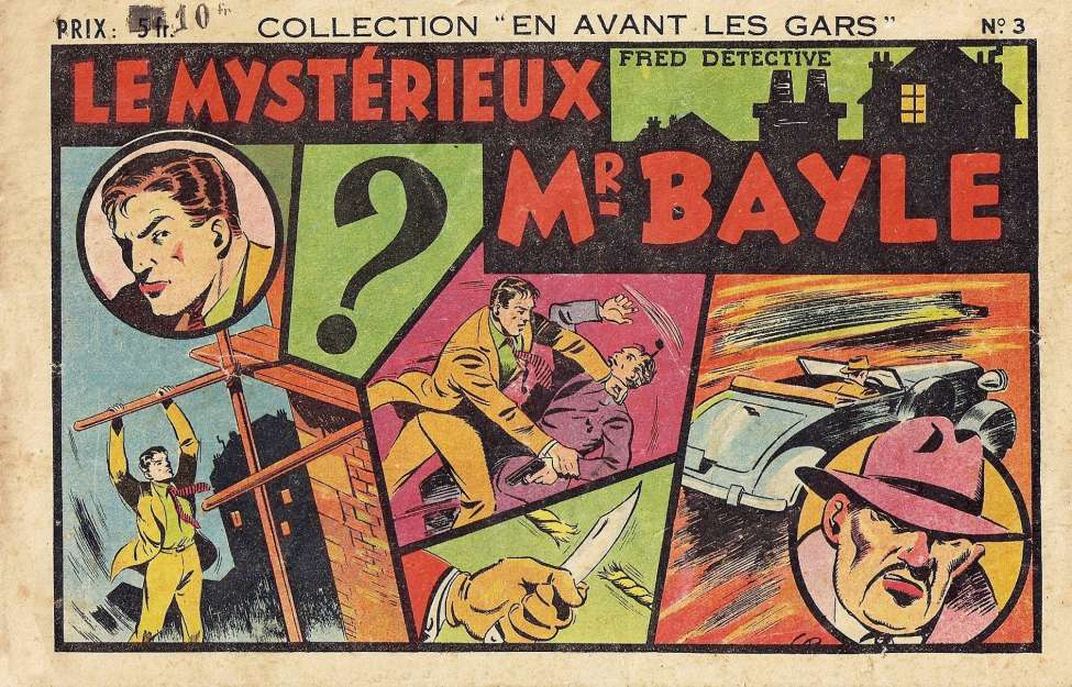 Comic Book Cover For Fred Detective 03 - Le Mysterieux Mr Bayle